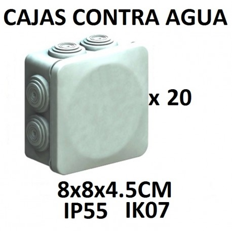 CAJA TIPO NEMA 7 ENTRADAS EXTERIOR IP55