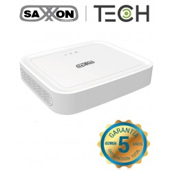 DVR SAXXON TECH 4CH HDCVI PENTAHIBRIDO 1080P LITE H.264 VGA HDMI P2P CCTV
