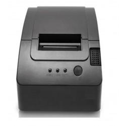 MINIPRINTER TÉRMICA DE TICKETS EC LINE USB NEGRA ROLLOS 58MM