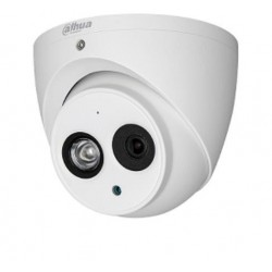 CAMARA DOMO DAHUA HDCVI 1080P WDR REAL 120DB/AUDIO INTEGRADO/VISION 115 GRADOS/ IR 50 MTS/IP67