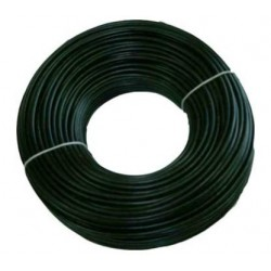 BOBINA CABLE UTP 5E EXT 100M 100%COBRE GEL CON 2 FORROS CCTV RED
