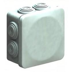 GABINETE CAJA STD TIPO NEMA 10x10x4.5CM 7 ENTRADAS EXTERIOR IP55