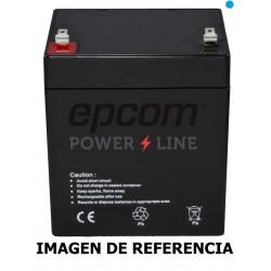 BATERÍA PILA RECARGABLE EPCOM 12V 4.5AH SELLADA CCTV ALARMA