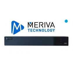 DVR MERIVA PENTAHIBRIDO 8CH 5MP 4IP P2P 256+