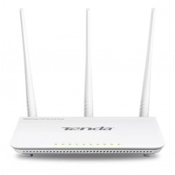 ROUTER INALAMBRICO TENDA 802.11N 300MBPS 2.4GHZ 3 ANTENAS